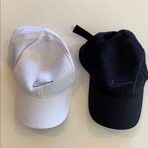 Nike cap bundle - black and white